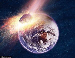 Asteroid Raksasa Yang Tidak Dapat Dihentikan Bergerak Menuju Bumi