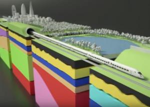 Pekerja Temukan Garis Pantai London Kuno Saat Penggalian Rel Kereta