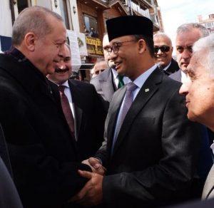 Kunjungi Turki Anies Baswedan Bertemu Dengan Erdogan