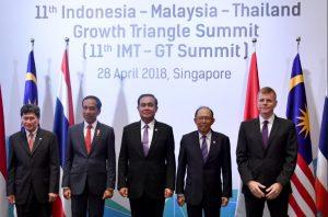 Presiden Jokowi Ingin Kerja Sama IMT-GT Berguna Untuk Rakyat Indonesia Dan ASEAN