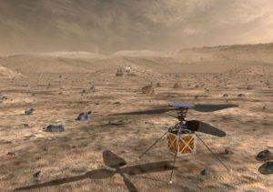 NASA Akan Mengirimkan Helikopter Ke Mars