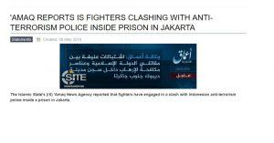 ISIS Klaim Jadi Dalang Kerusuhan Di Mako Brimob