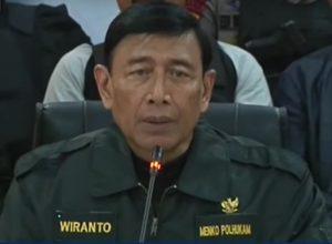 Terkait Teroris, Wiranto: Percayakan Pada Undang-Undang