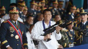 Filipina Akan Memberikan Senjata Gratis Untuk Perangi Kejahatan