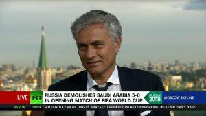 Mourinho: Rusia Tidak Punya Alasan Untuk Terlalu Optimis