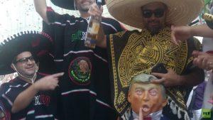 Pendukung Meksiko Mengejek Trump Di Piala Dunia