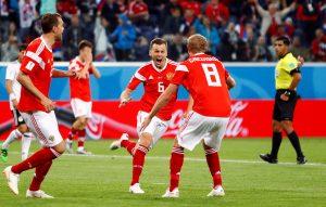 Kalahkan Mesir 3-1, Rusia Pecahkan Rekor Sejarah