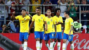 Kalahkan Serbia 2-0, Brasil Akan Bertemu Dengan Meksiko