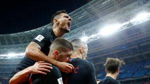 Kalahkan Inggris, Kroasia Akan Hadapi Perancis Di Final Piala Dunia 2018