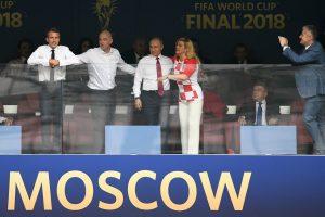 Putin Foto Bersama Presiden Kroasia Di Final Piala Dunia