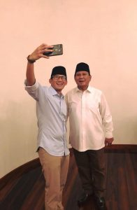 Pilih Sandiaga Uno Jadi Cawapres, Prabowo Subianto Ucapkan Terima Kasih Untuk PAN Dan PKS