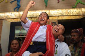 Sambut Joni, Imam Nahrawi: Semoga Semangatnya Menjadi Inspirasi Kita Semua