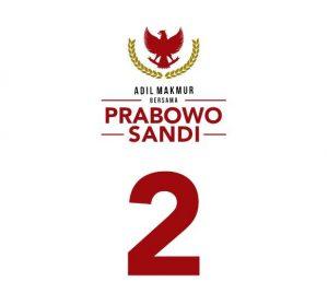 Gerindra Ucapkan Syukur Prabowo-Sandi Dapat Nomor Urut 2