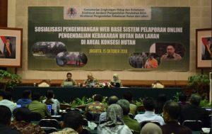 Untuk Pengendalian Hutan, KLHK BangunSistem Web Base Pelaporan Online