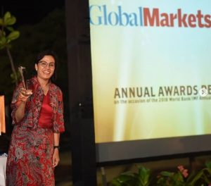 "Sri Mulyani Dinobatkan Sebagai ""Finance Minister of the Year, East Asia Pacific"""