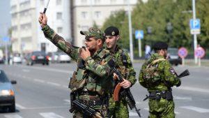 Seorang Wanita Meledakan Diri DiChechnya Rusia