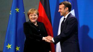 Macron: Persatuan Perancis-Jerman Dapat Menghentikan Kekacauan Global