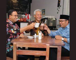 Ngopi Dengan Ganjar Dan Anies, Ridwan Kamil: Perbedaan Adalah Rahmat, Persatuan Adalah Mulia