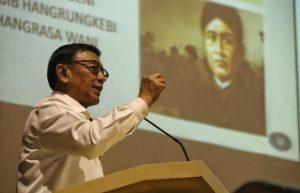 Wiranto: Masa Lalu Menjadi Referensi Kita Berjuang Untuk Masa Depan