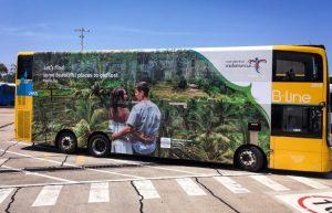 Kemenpar Branding Bus Double Decker Dan Media Di Australia