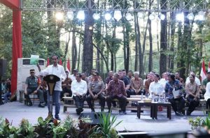 Presiden Serahkan SK Perhutanan Sosial Di Sumatera Selatan Dengan Luas56.276 Ha
