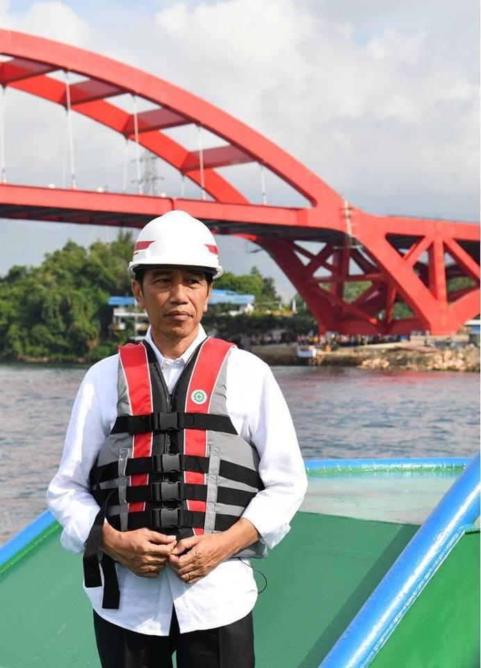 Jokowi: Pembangunan Infrastruktur Adalah Soal Persatuan Indonesia