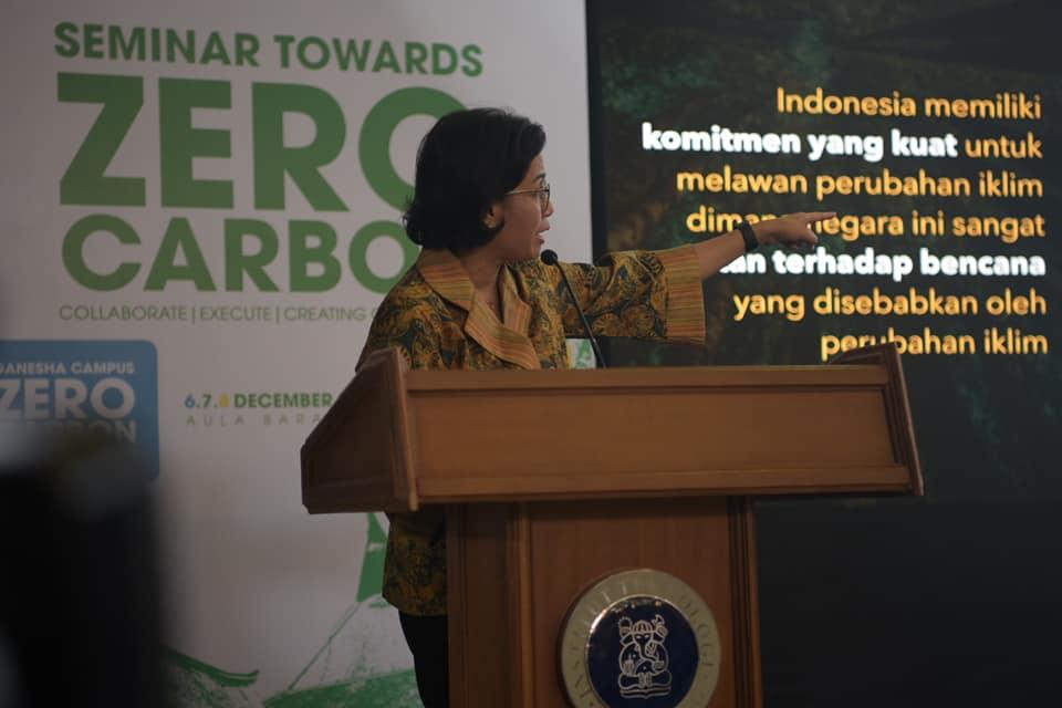 Isu Perubahan Iklim, Sri Mulyani Harap Kampus Bersuara