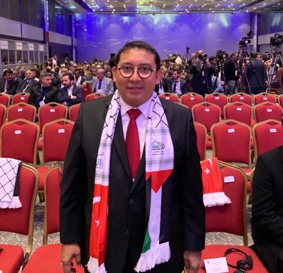 Hadiri Konferensi Liga Parlemen Untuk Yerusalem, Fadli Zon: Indonesia Sejak Dulu Dukung Kemerdekaan Palestina