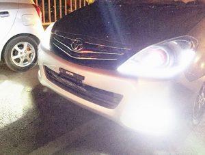 Lampu Kendaraan Menyilaukan, Denda Rp. 500.000 Atau Kurungan 2 Bulan
