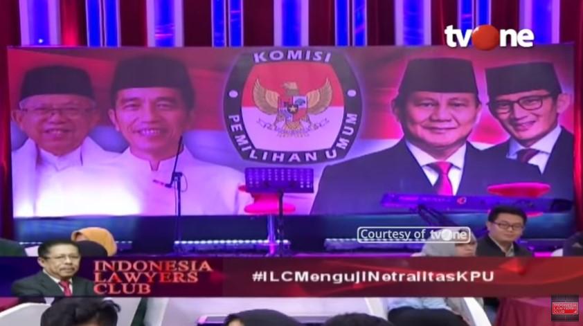 "Di ILC ""Menguji Netralitas KPU"" Rocky Gerung Kritik Keras KPU"
