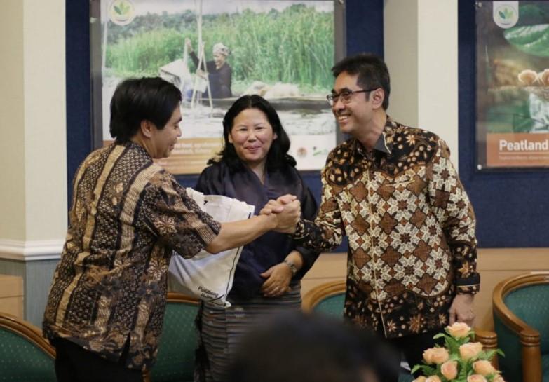 UNEP Dukung Indonesia Sebagai Pusat Lahan Gambut Internasional