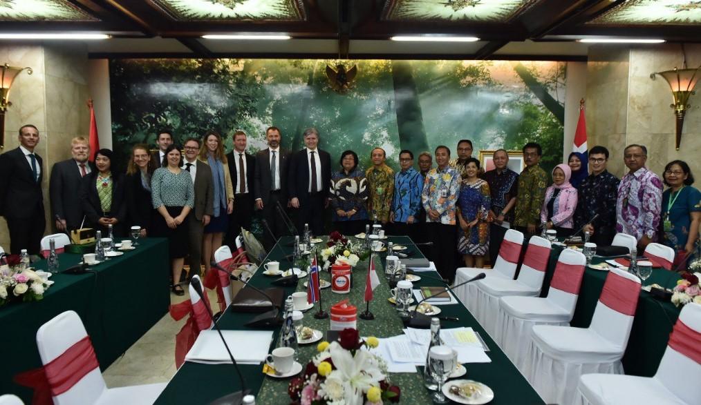 Norwegia Apresiasi Indonesia Soal Capaian Pengurangan Emisi Gas Rumah Kaca