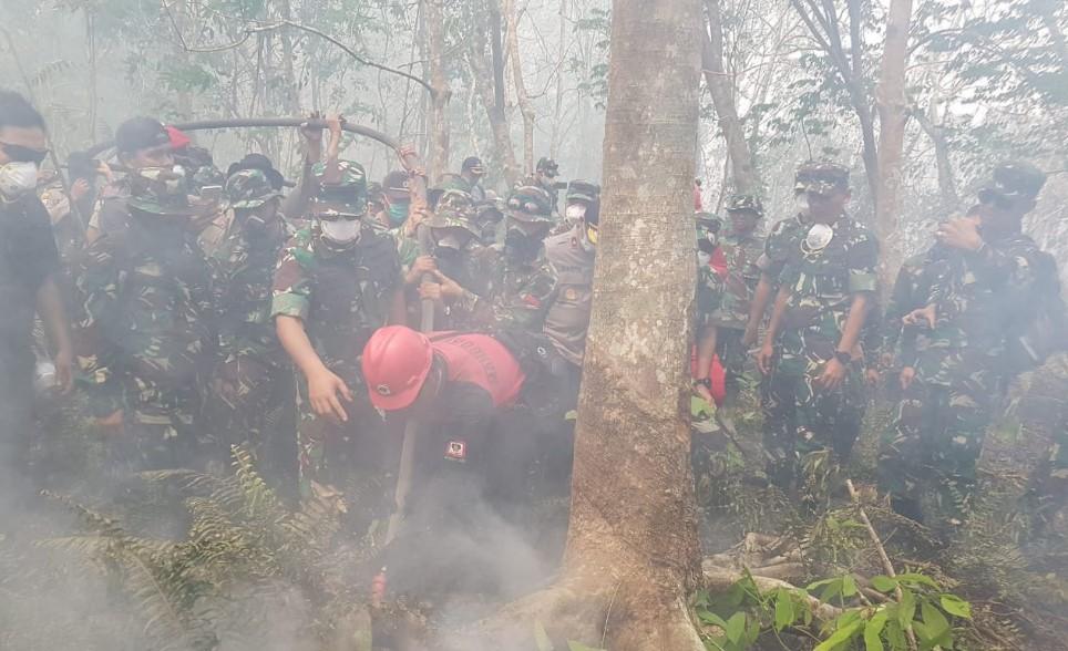 Panglima TNI Terjun Langsung Ke Lokasi Karhutla