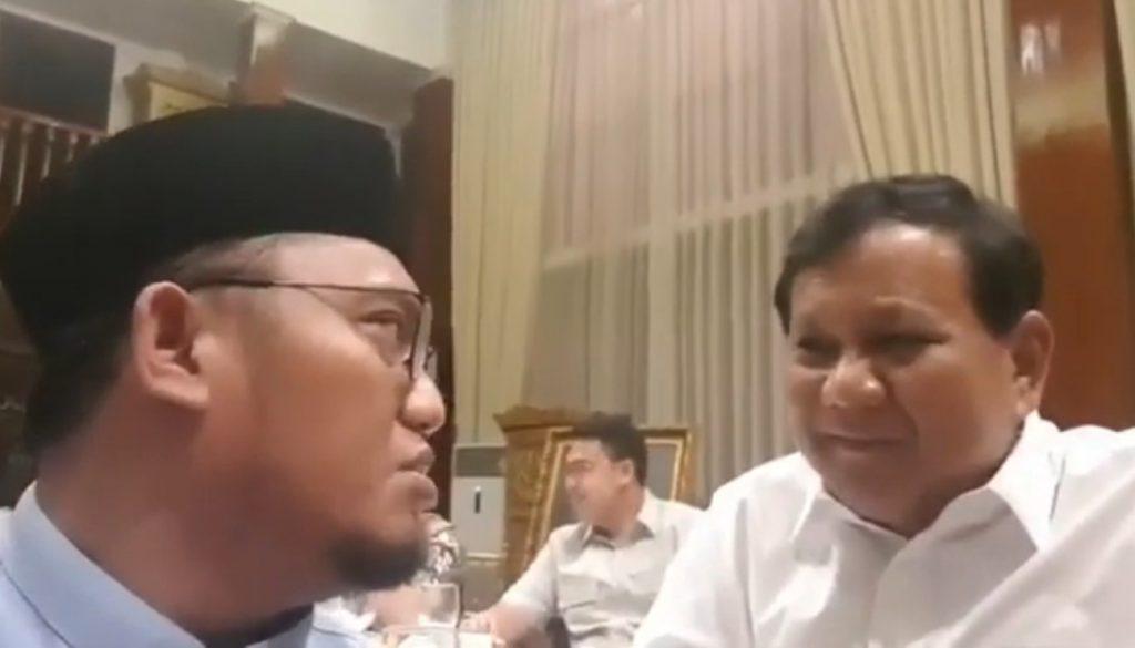 Dengan Santai, Prabowo Subianto Tanggapi Tuduhan Menggunakan Propaganda Ala Rusia