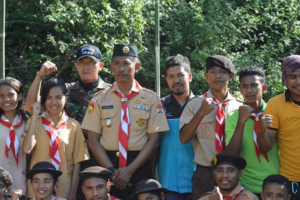 Kasdim Flores Timur: Perkemahan Saka Wirakartika Bertujuan Untuk Membentuk Dan Membina Generasi Muda