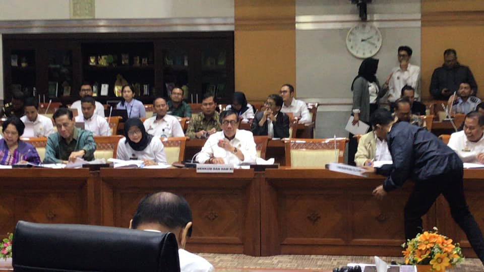 Komisi III DPR-RI Setuju Menyelesaikan RUU Pemasyarakatan