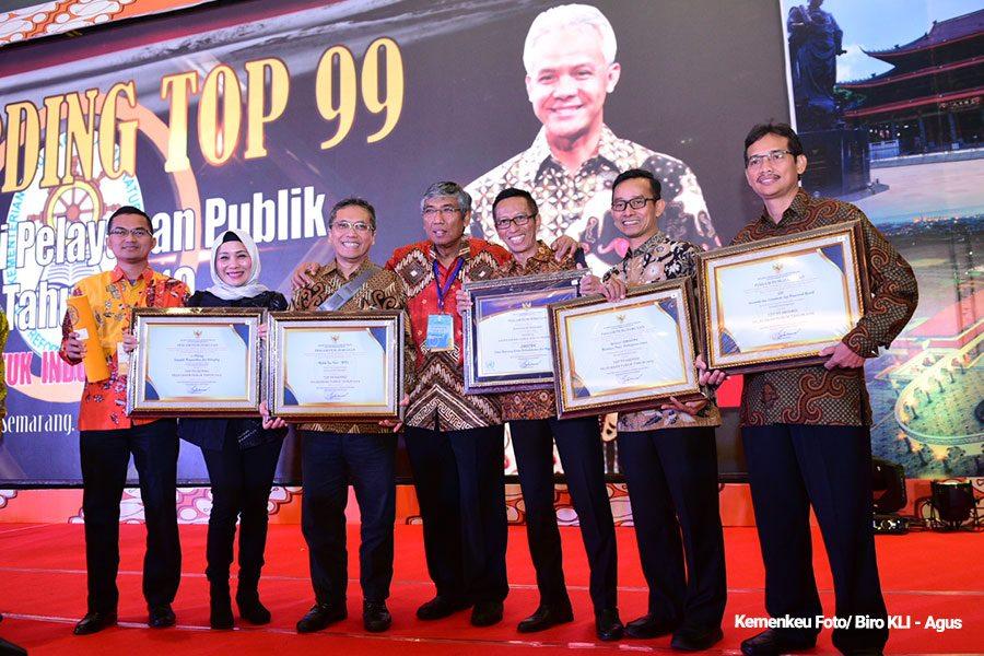 Kementerian Keuangan Terima 6 Penghargaan Inovasi Pelayanan Publik 2019