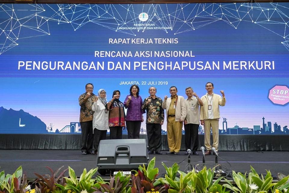 KLHK Gelar Rakernis Wujudkan Indonesia Bebas Merkuri 2030