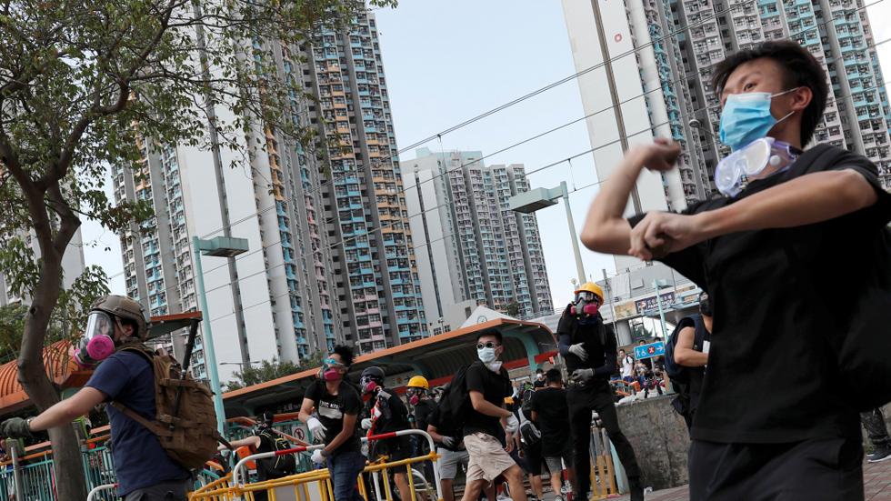 Tiongkok Peringatkan Amerika Untuk Tidak Mendukung Segala Bentuk Kerusuhan Di Hong Kong